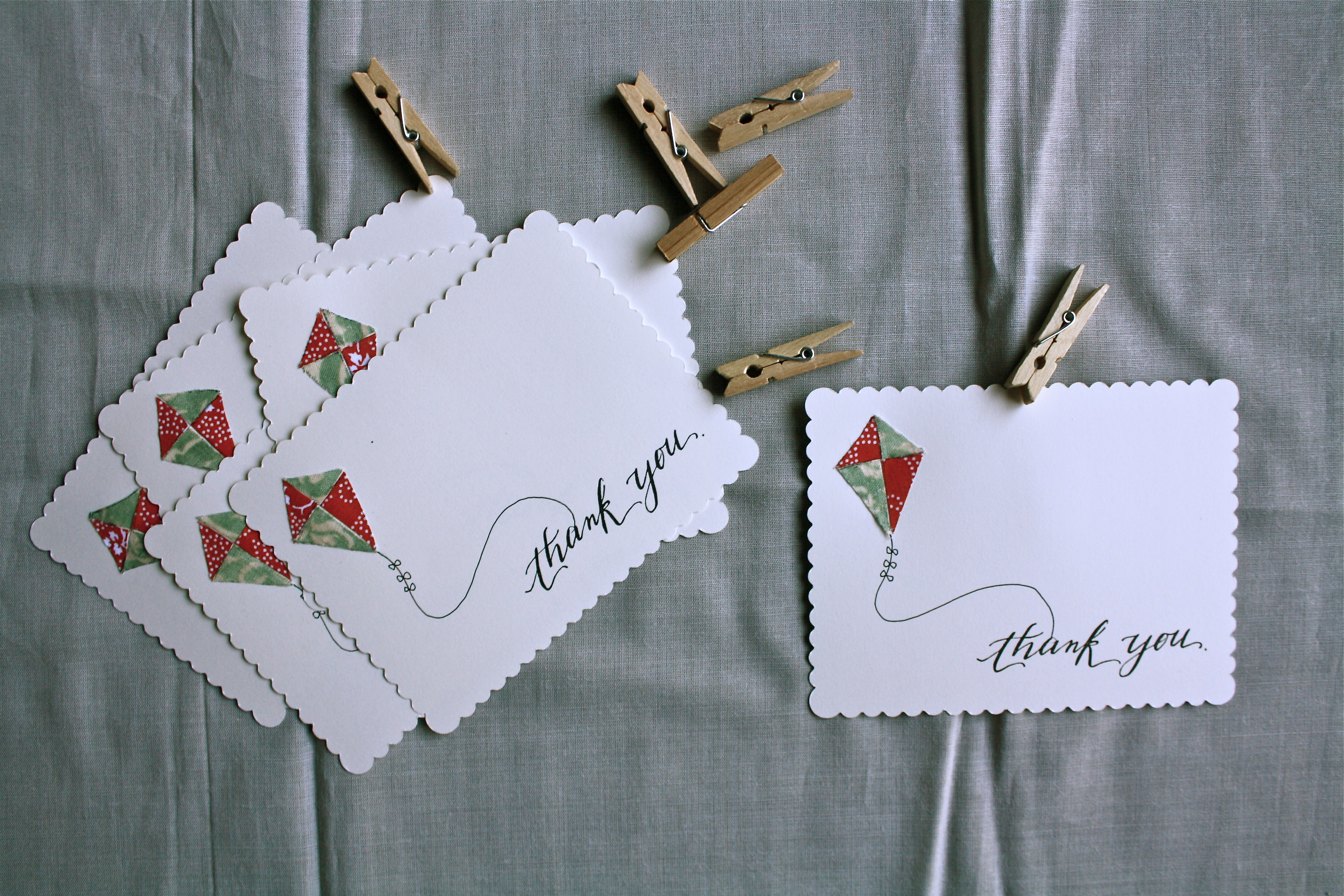 Kite Thank You Cards